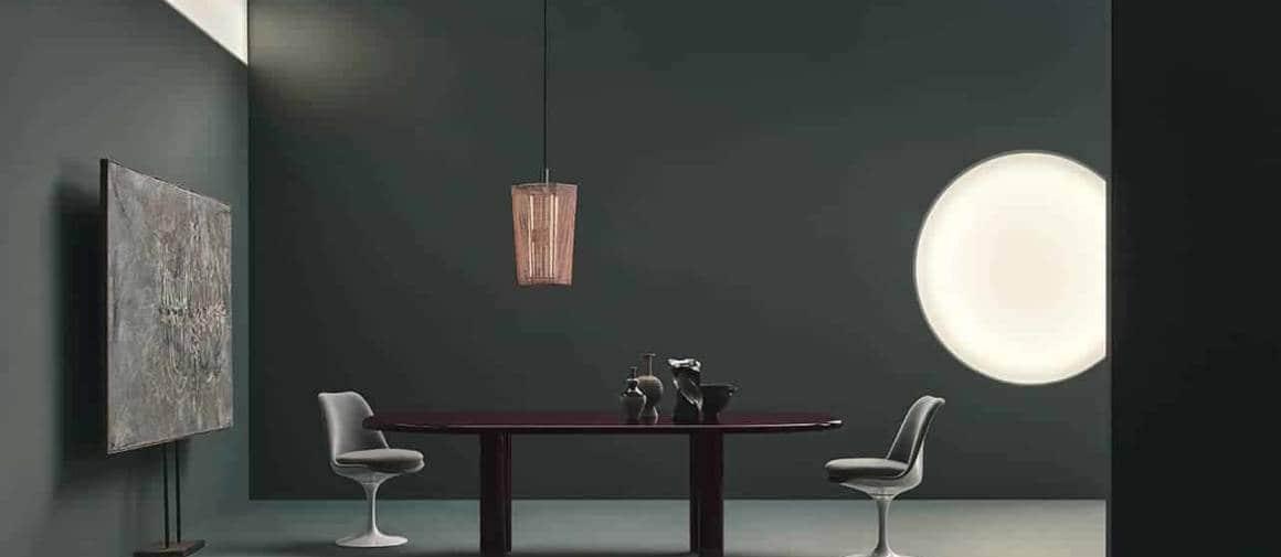 Table Smalto, en acier émaillé. Coloris aubergine ou gris-vert. Existe en 3 dimensions. 240 x 125 x H. 73 cm. Design Barber & Osgerby. ©Knoll