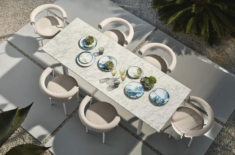 LC Collection outdoor. ©Cassina