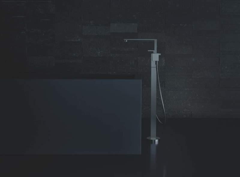 Mitigeur bain:douche Axor Edge, encastré avec inverseur