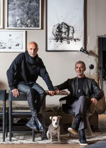 Pierre-Emmanuel Martin et Stéphane Garotin, alias Maison Hand