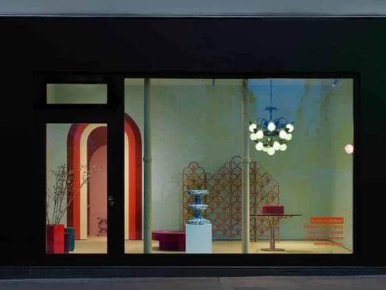 Nouveau showroom India Mahdavi au 29 rue de Bellechasse, 75007 Paris. Photo Thierry Depagne.