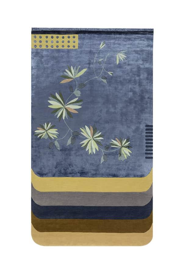 Tapis Kyu. ©Besana Carpet Lab