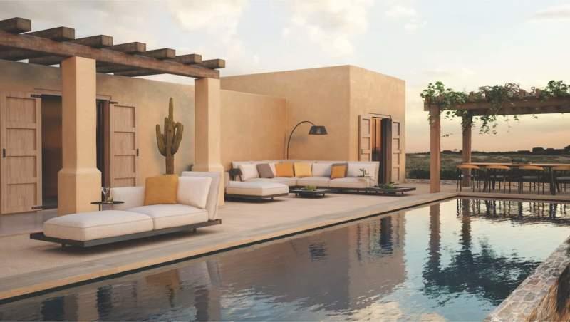 Assises modulaires Mozaix Lounge. Design Kris van Puyvelde – Royal Botania