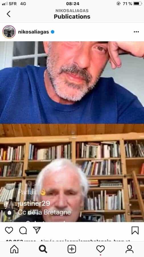 Coup de coeur – l'interview coup de coeur, de Yann Arthus-Bertrand par Nikos Aliagas