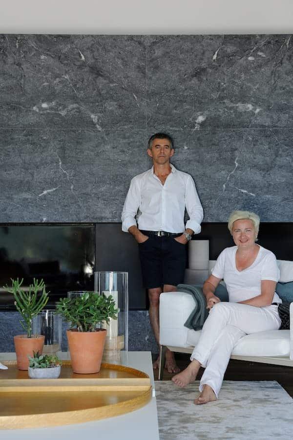 Carole et Fabrice Gibert, fondateurs d'Archidomo