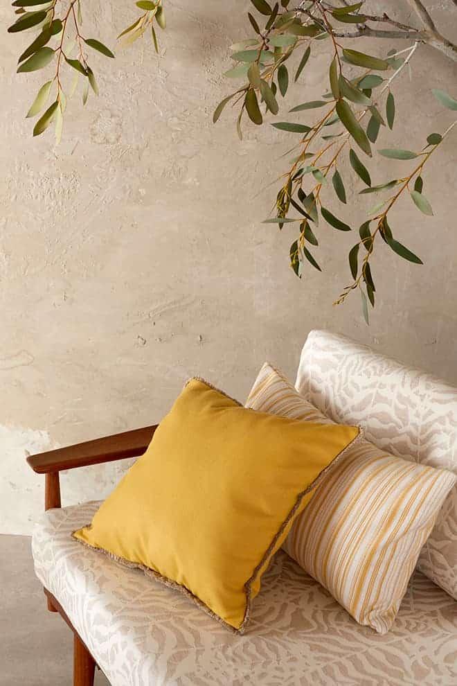 Collection Bahia – Mezzo Sulfur – Foutah Pastis – Ikebana Uyuni – Sunbrella®