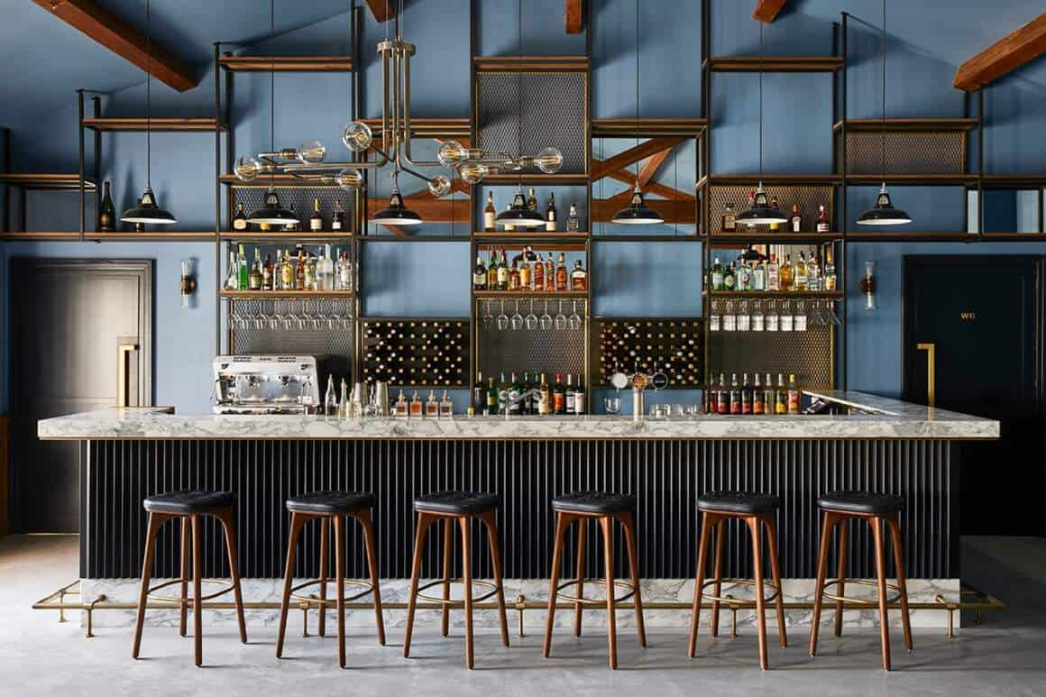 Espace bar restaurant Atmos – Hôtel UP par Humbert & Poyet
