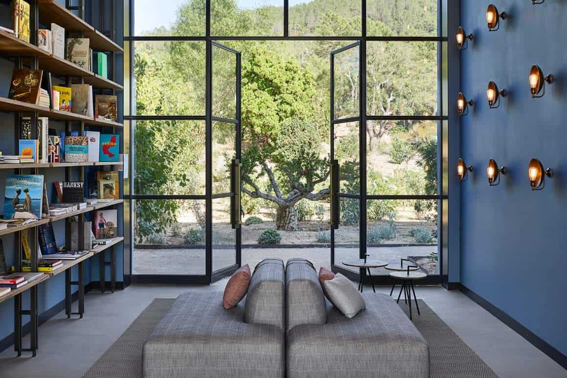 Espace bibliothèque – Hôtel UP par Humbert & Poyet