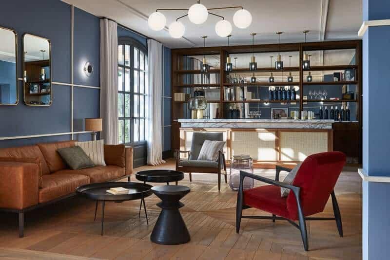 Espace réception bar – Hôtel UP par Humbert & Poyet-3