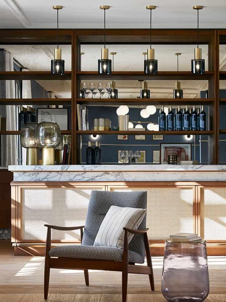 Espace réception bar – Hôtel UP par Humbert & Poyet