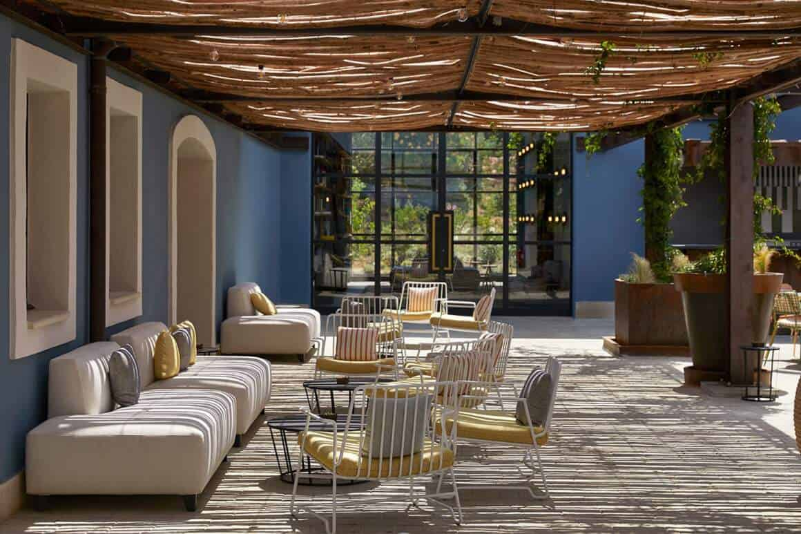 Espace terrasse – Hôtel UP par Humbert & Poyet