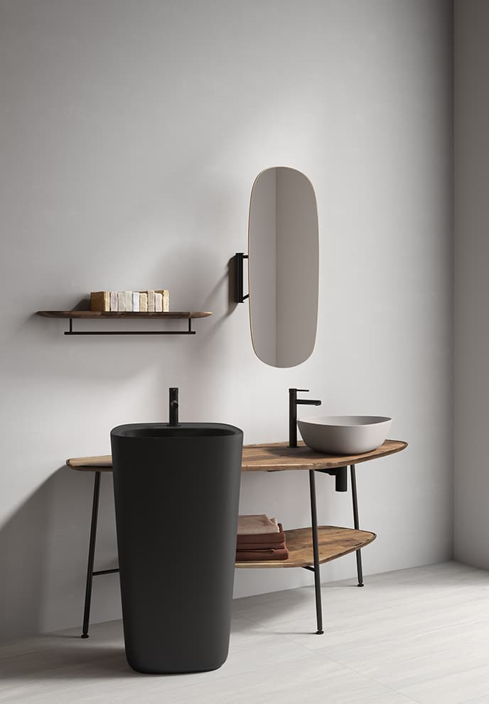 Plural – Design Terri Pecora. Collection Signature. Mitigeurs Origin. ©VitrA Bad