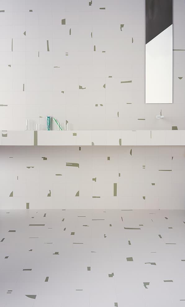 Collection Pack. Coloris Ice-Green. 15 x 15 cm. Ép. 10 mm. 5 coloris. 36 motifs. ©41zero42
