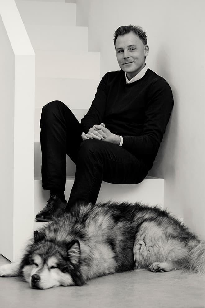 Guillaume Alan, décorateur-ensemblier fondateur de bureaux d'études éponymes, à Paris et à Londres