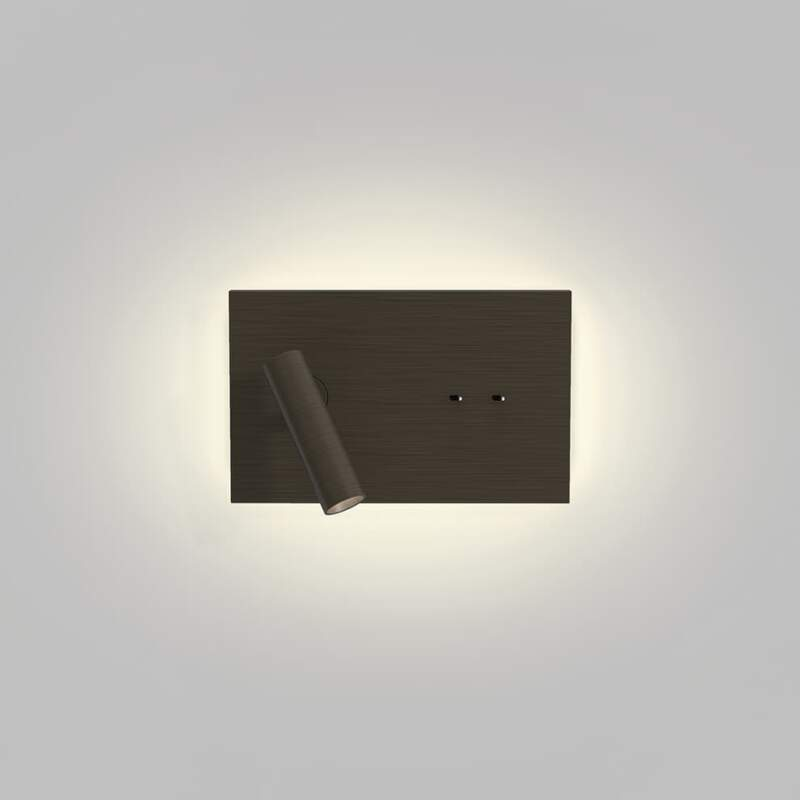 Liseuse Edge Reader Mini. Bronze. ©Astro Lighting