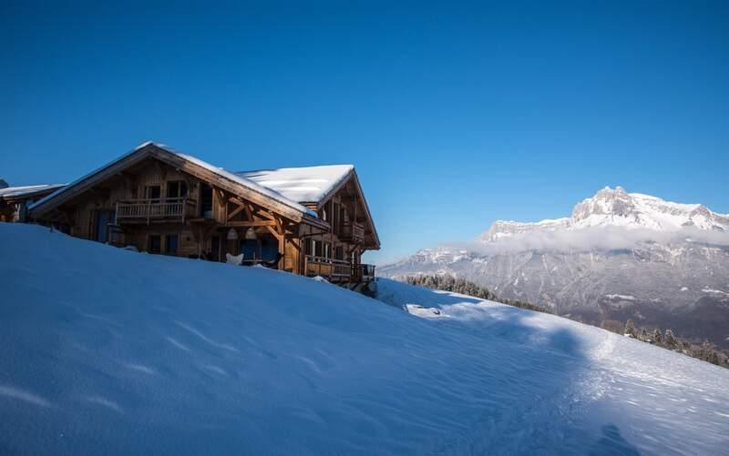 Chalet Les Granges par Chalets Bayrou – Vue mont Blanc