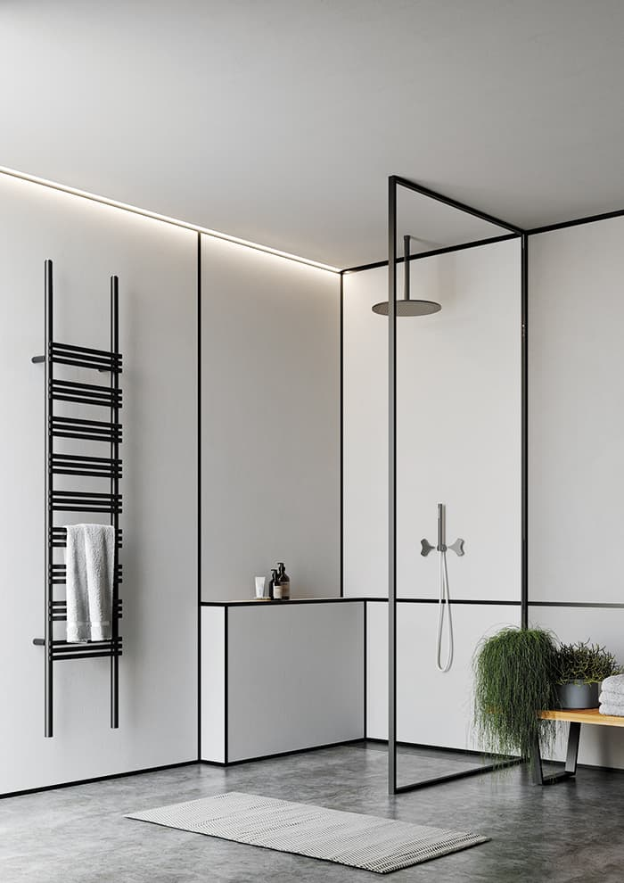 Sèche-serviettes Pioli. Design Andrea Crosetta – Antrax