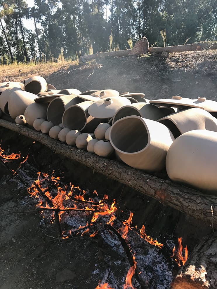 """Technique """"Soenga"""", Barro Negro – Made in Situ – 2"""