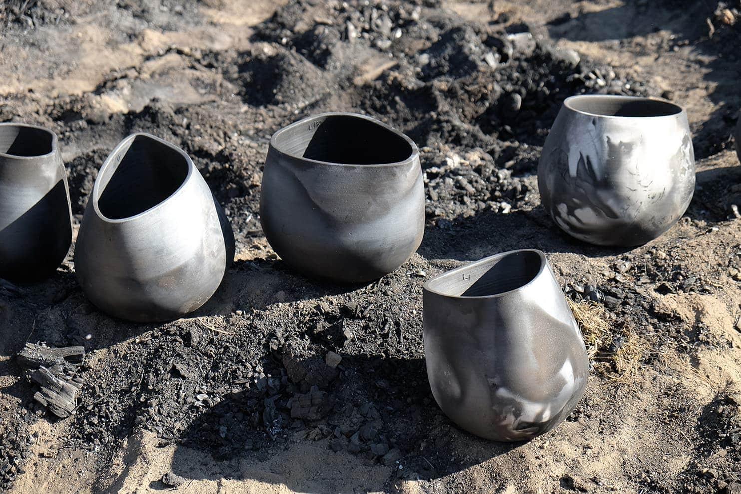 Vases Tondela. Collection Barro Negro - Made in Situ