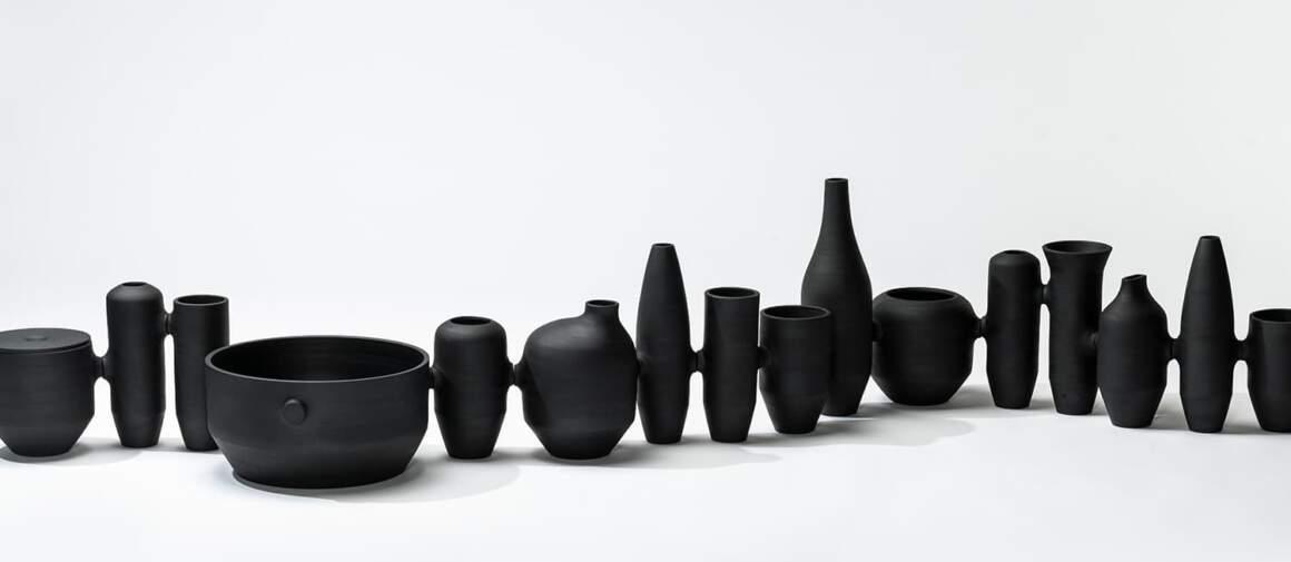 Vases Xana & Carlos, Barro Negro. Collection MIS. Photo Nuno Sousa Dias - Made in Situ