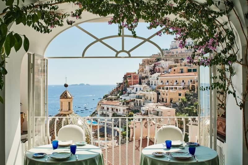 Hôtel Le Sirenuse – Restaurant