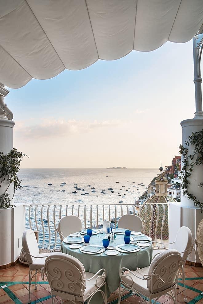 Hôtel Le Sirenuse – Terrasse