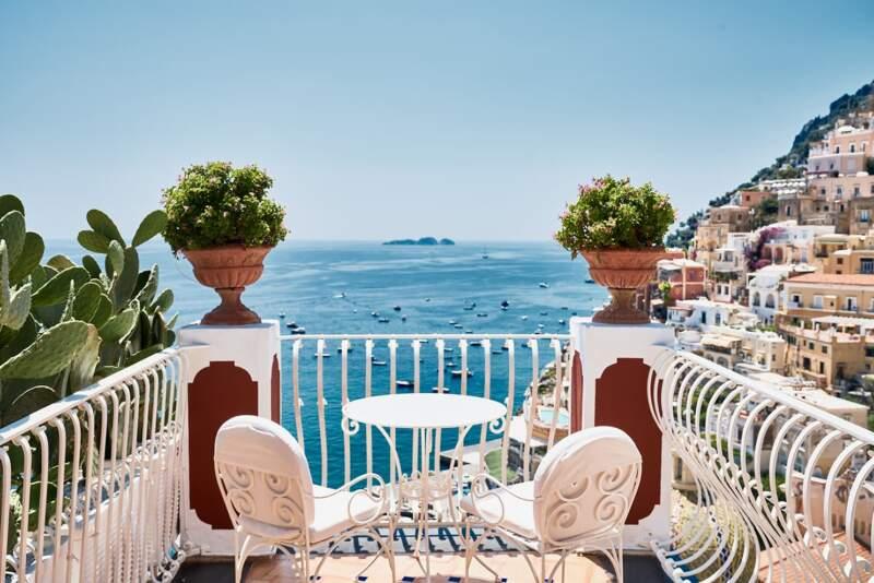 Hôtel Le Sirenuse – Terrasse chambre