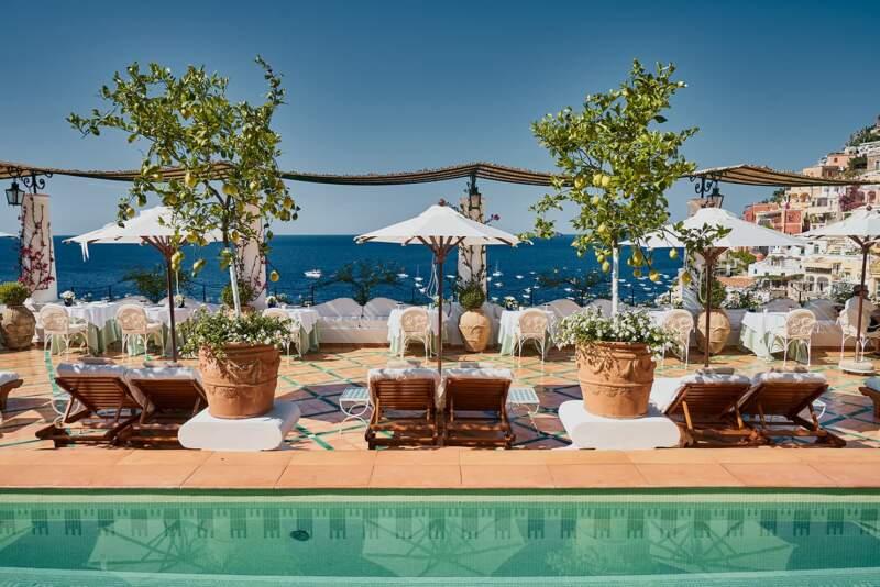 Hôtel Le Sirenuse – Terrasse piscine