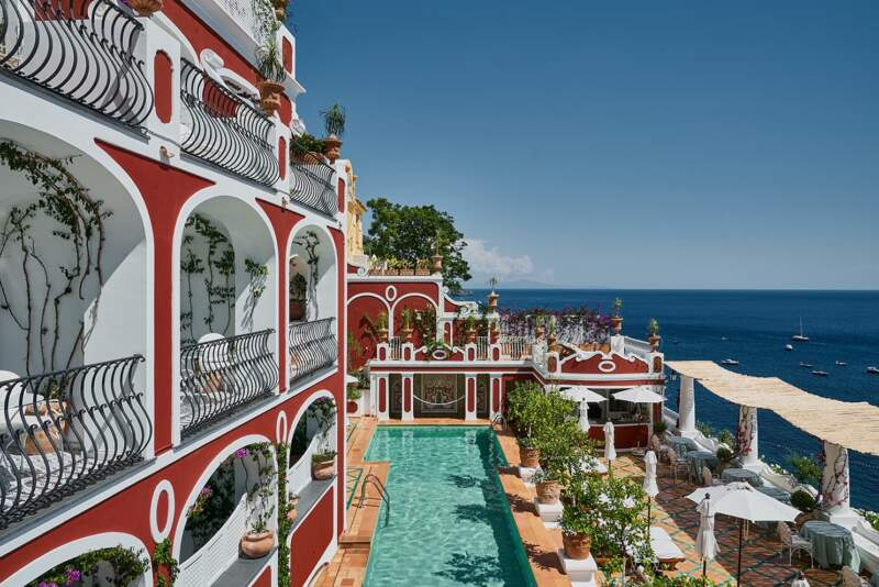 Hôtel Sirenuse – Terrasse piscine