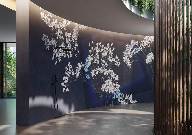 Panoramique Nebula. Support GlamFusion® imperméable. Collection XI – Glamora