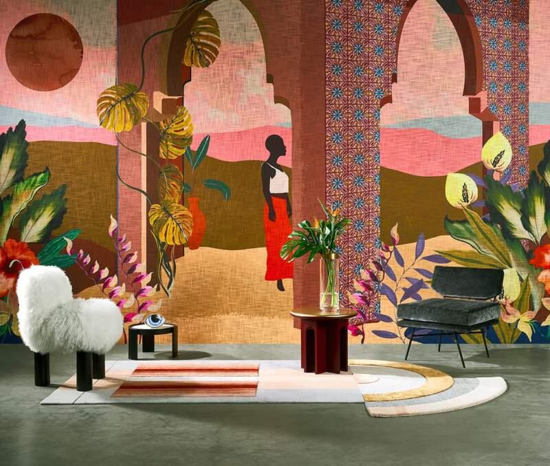 Panoramique peint à la main Les Mystères de Madagascar – Arte