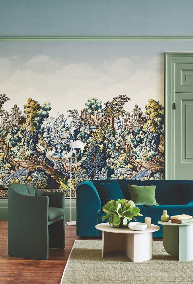 Papier peint intissé Verdure Tapestry. Collection Great Masters – Cole & Son
