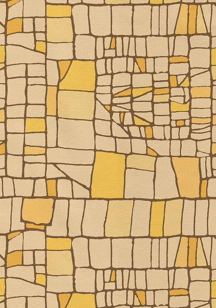 Papier peint Rete. Design Eliana Lorena – Styl'editions