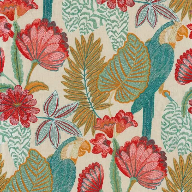Tissu brodé Arapsodie – Casamance