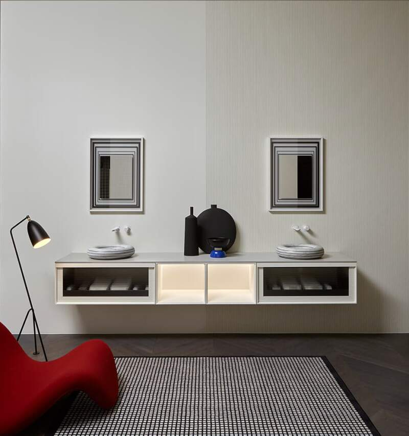 Nouvelle collection Bemade – Design Carlo Colombo – Lavabo Rigati – Antoniolupi