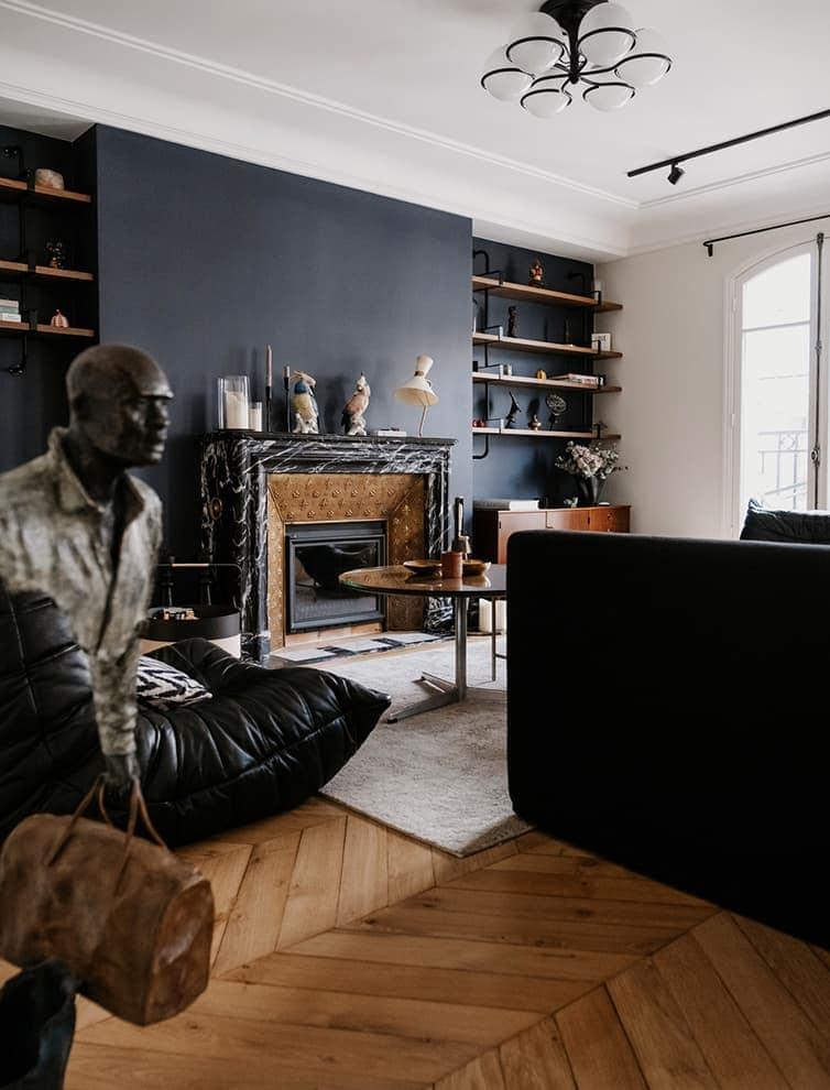 Pièces d'art, objets et mobilier trouvent ici leur raison d'être