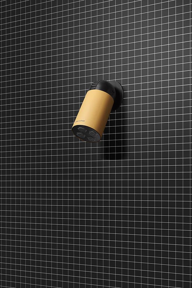 Tête de douche Azimut en laque mate Coccodrillo – Design Gi-Ra – Antoniolupi