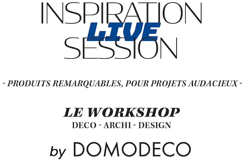 logo inspiration live session avec logo domodeco