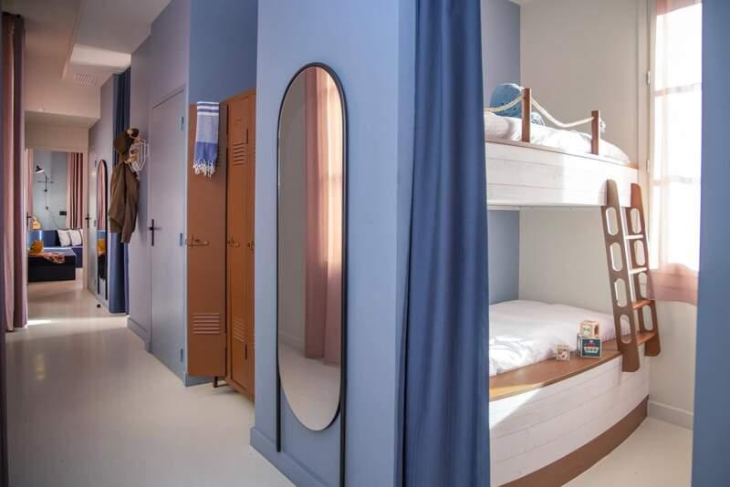 Chambre Équipage, dortoir – L'Eautel Toulon Port