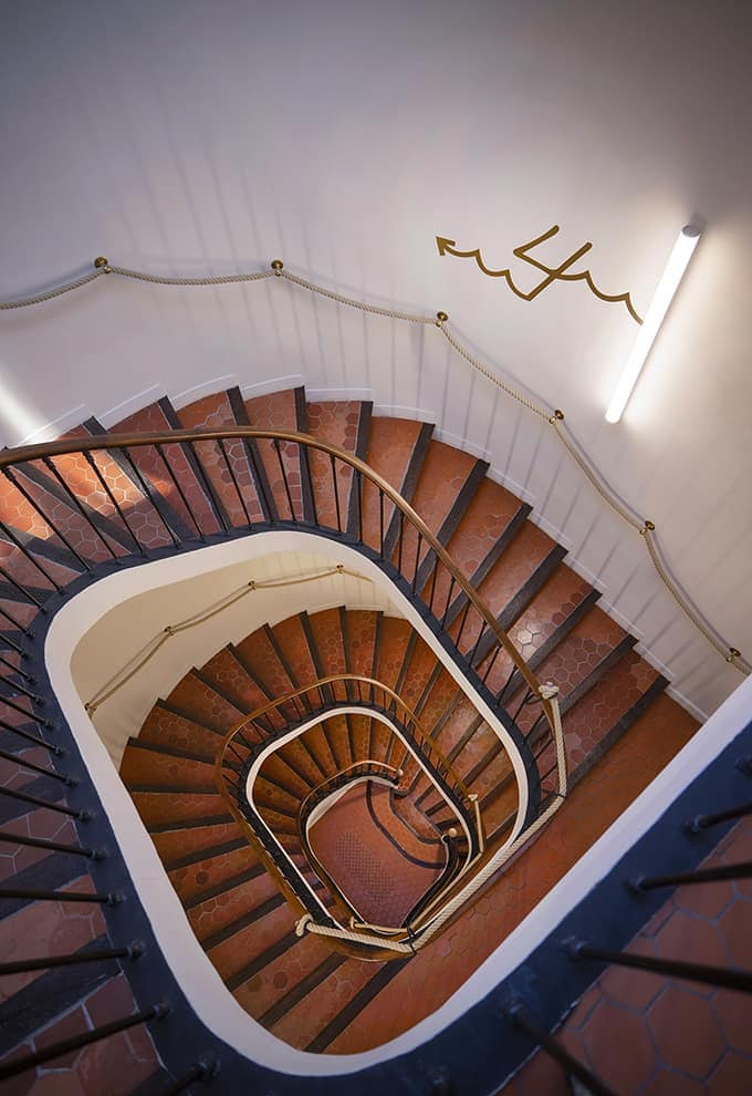 Escalier L'Eautel Toulon Port