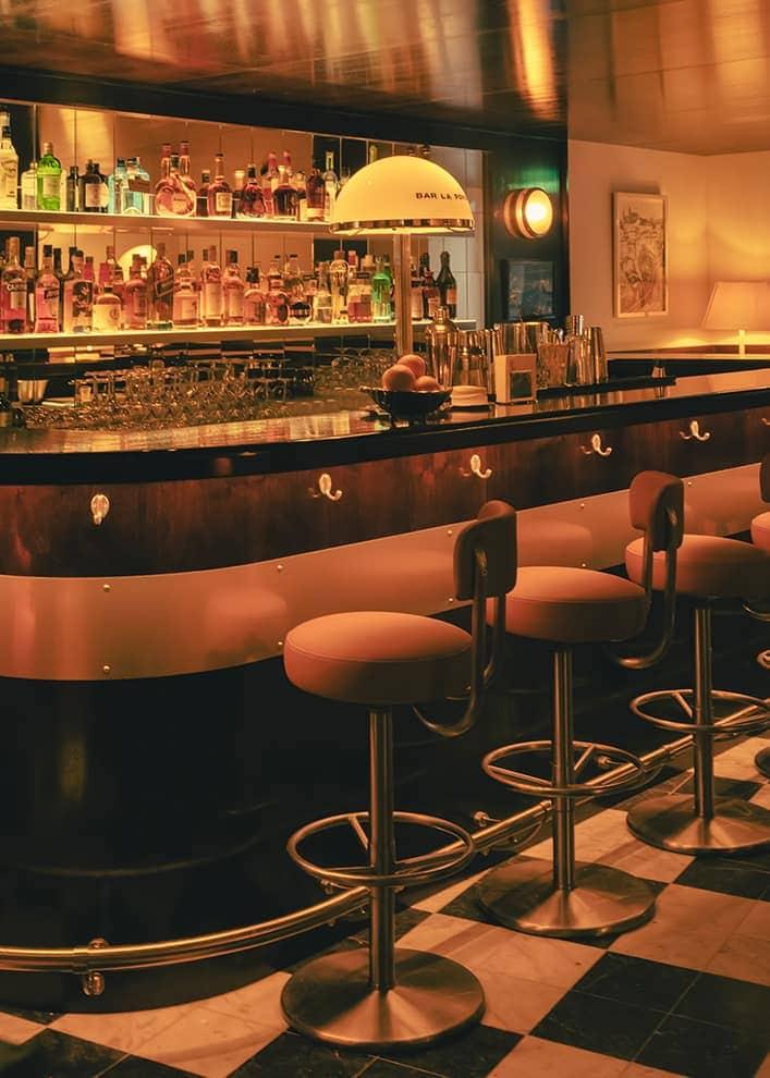 Hôtel La Ponche – Saint-Tropez – Bar – Architecte d'intérieur Fabrice Casiraghi