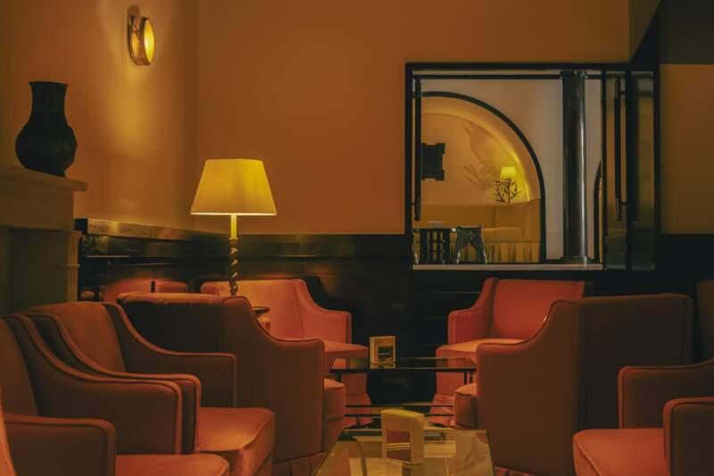 Hôtel La Ponche – Saint-Tropez – Bar Saint-Germain-des-Prés – Architecte d'intérieur Fabrice Casiraghi