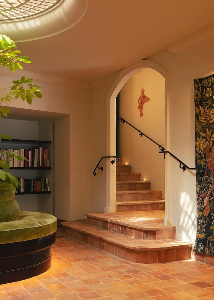 Hôtel La Ponche – Saint-Tropez – Patio – Architecte d'intérieur Fabrice Casiraghi