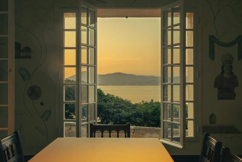 Hôtel La Ponche – Saint-Tropez – Salle à manger – Architecte d'intérieur Fabrice Casiraghi