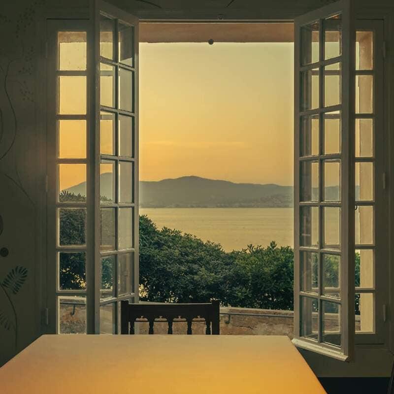 Hôtel La Ponche - Saint-Tropez - Salle à manger - Architecte d'intérieur Fabrice Casiraghi