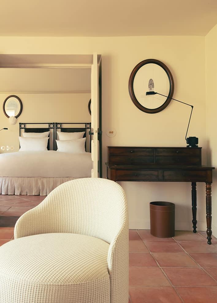 Hôtel La Ponche – Saint-Tropez – Suite n°1 Brigitte Bardot – Architecte d'intérieur Fabrice Casiraghi