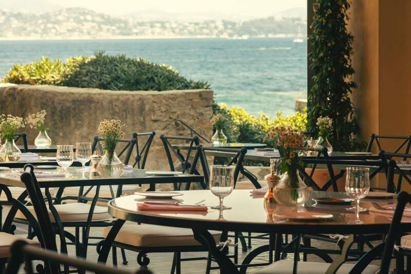 Hôtel La Ponche – Saint-Tropez – Terrasse – Architecte d'intérieur Fabrice Casiraghi