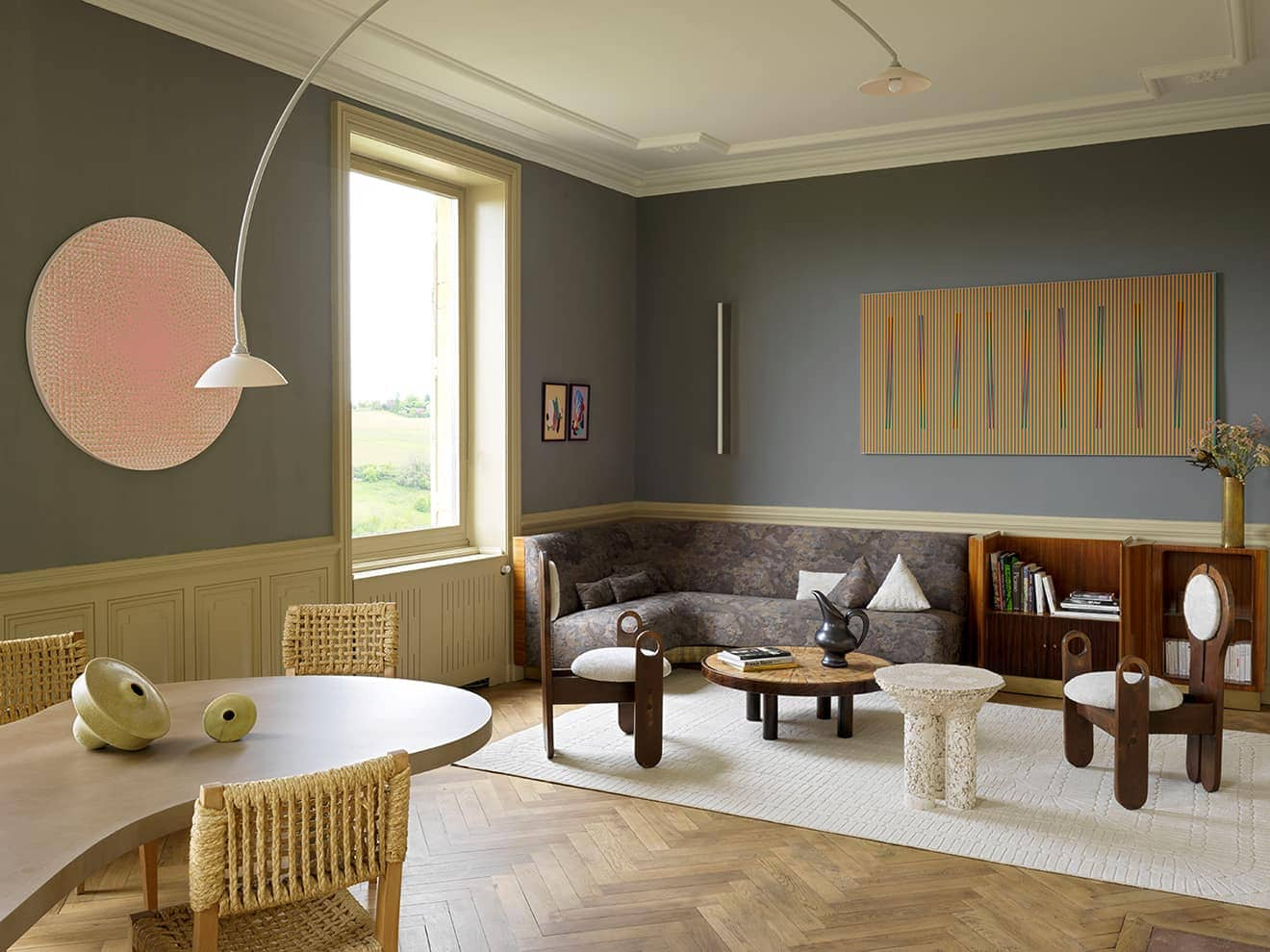 Demeure beaujolaise, grand cru architectural